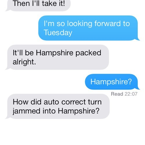 autocorrect text Hampshire funny - 7840590080