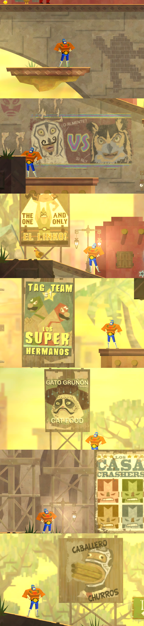 guacamelee cameos easter eggs references - 7840939264