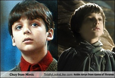 robin arryn Game of Thrones chuy totally looks like mimic funny