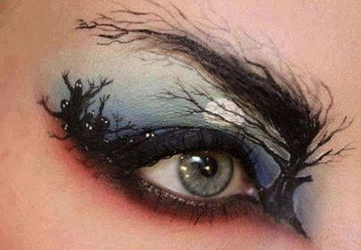 makeup halloween eyeshadow g rated poorly dressed - 7841142272