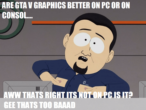 consoles,South Park,pc gamers