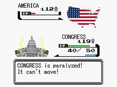 government shutdown Pokémon america - 7841367552