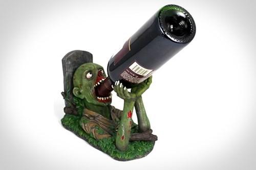 wtf halloween wine zombie funny - 7841373696
