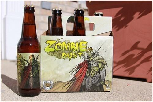 beer halloween zombie funny - 7841407744