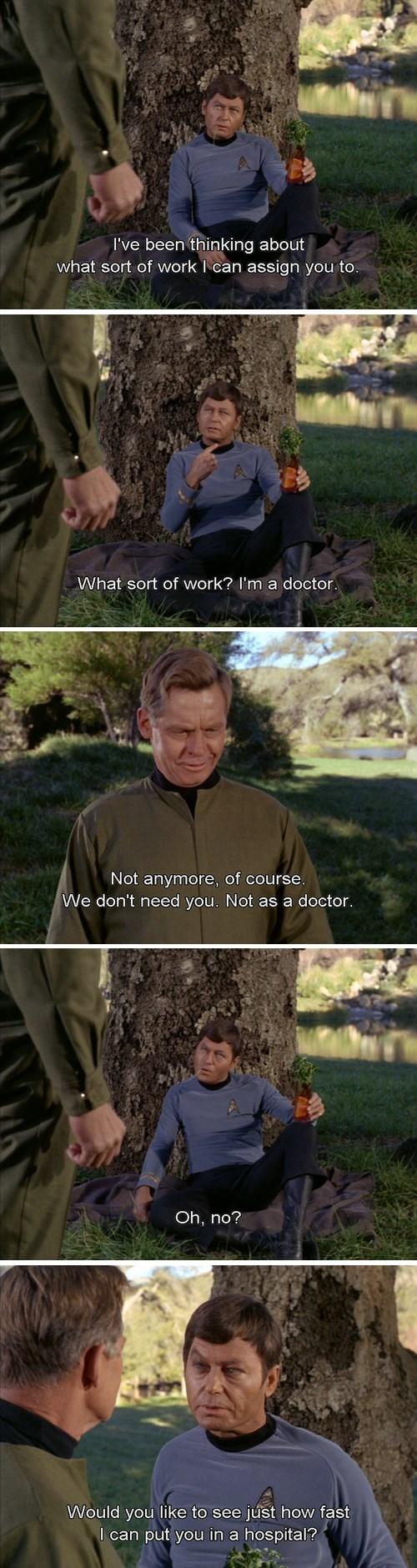 bones TOS leonard mccoy doctor Star Trek - 7841431296