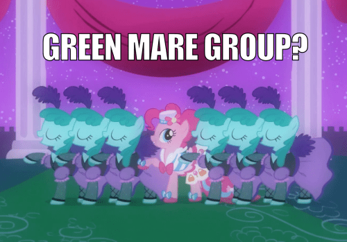 pinkie pie MLP Blue Man Group - 7841525504