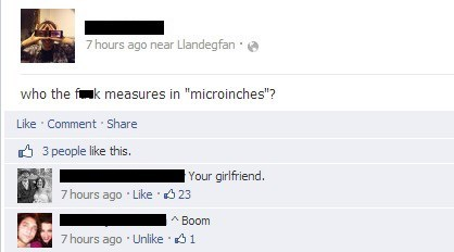 sick burn microinches