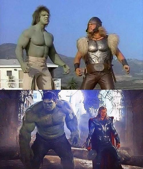 lou ferigno Thor incredible hulk hulk avengers