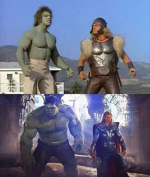 lou ferigno Thor incredible hulk hulk avengers - 7841577472