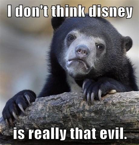 disney cartoons Confession Bear - 7841611776