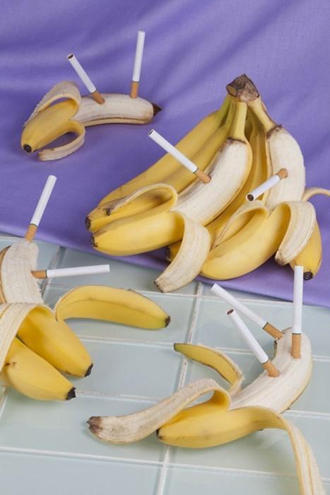 wtf cigarettes bananas funny - 7841657600