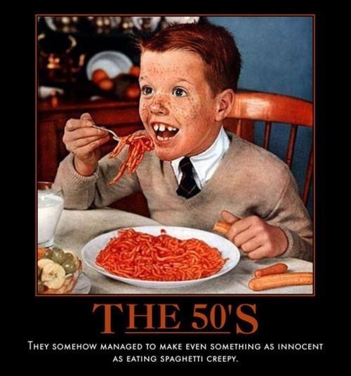 50s wtf kids creepy pasta funny