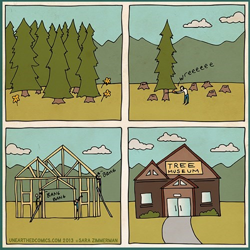trees sad but true web comics - 7841692928