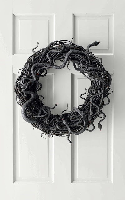 halloween wreath crafts DIY g rated - 7841702400