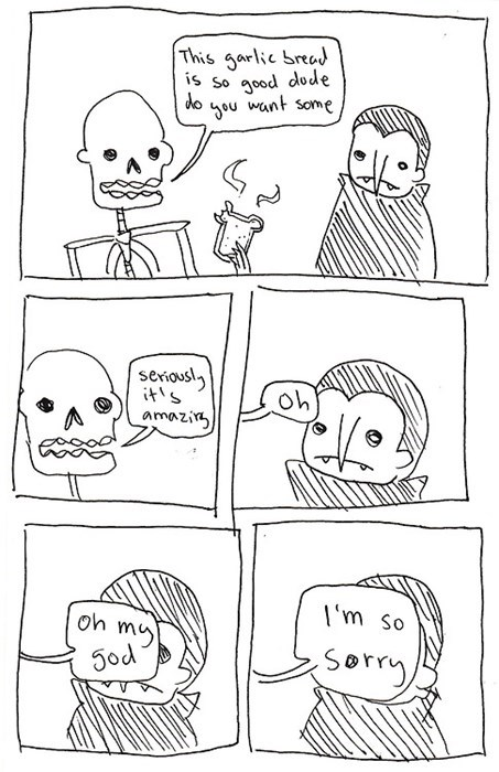halloween skeletons funny web comics dracula hallowmeme - 7841750784