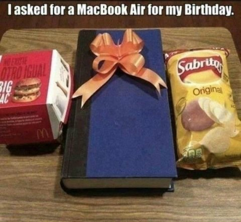 chips birthday gifts macbook air - 7841766144