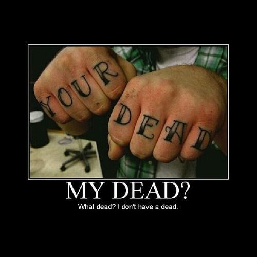 grammar tattoos idiots funny - 7841780992