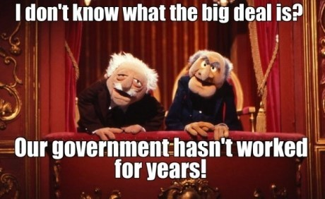 government shutdown,muppets