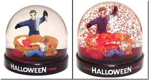 halloween snowglobe famously freaky - 7841816320