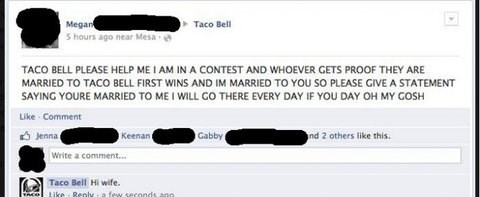 taco bell relationship status - 7841838336