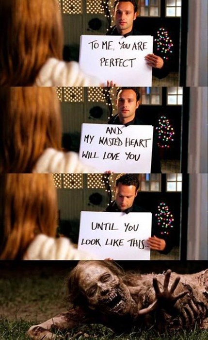 sign screencap funny The Walking Dead dating - 7842000128