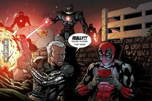 deadpool sentinels off the page 3DS - 7842081536