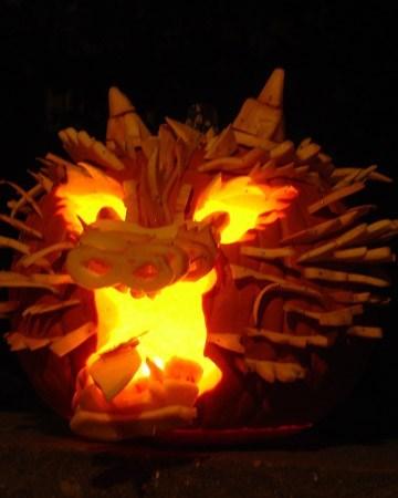 dragon halloween jack o lanterns g rated - 7842108672