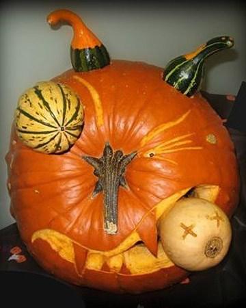 pumpkins halloween jack o lanterns - 7842111488