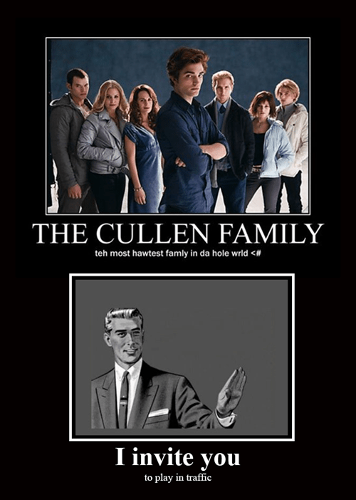 horrible eww cullen twilight funny - 7842127104