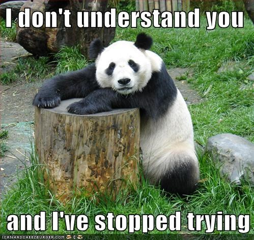 stump animals panda bears - 7842391040