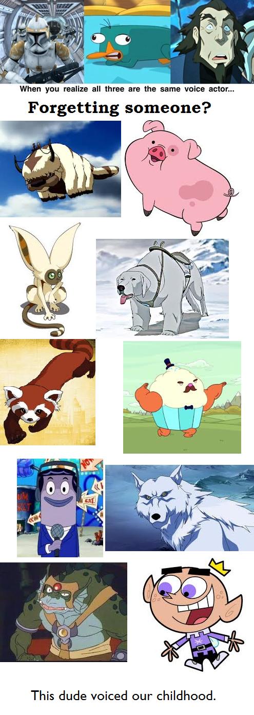 cartoons re-frames voice actors - 7842526464