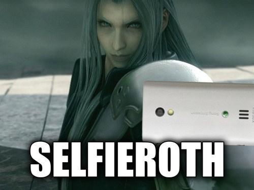 sephiroth,selfie,final fantasy