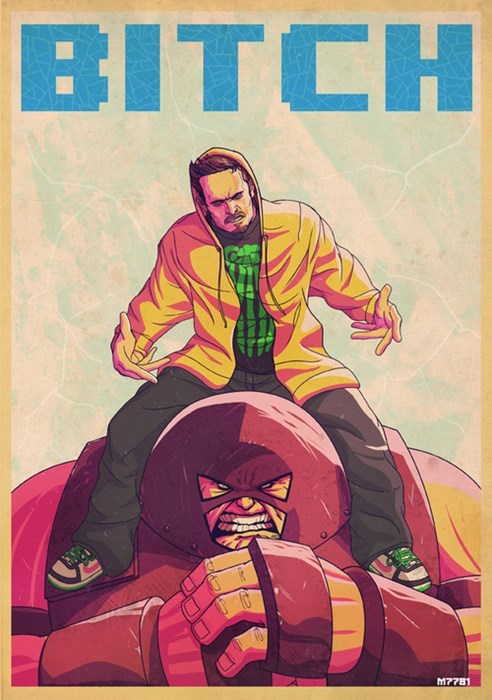 breaking bad marvel juggernaut - 7842838528