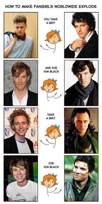 benedict cumberbatch brit tom hiddleston Colin Firth fangirl - 7842870528