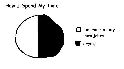 jokes crying Pie Chart - 7842876672