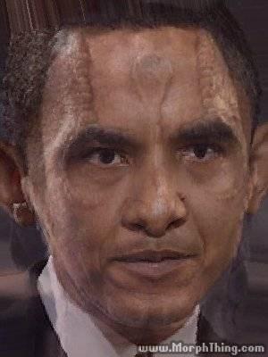 Garak,morph,cardassian,President Obama,ds9