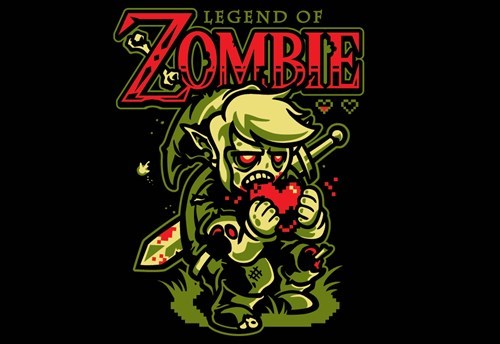 legend of zelda for sale t shirts zombie video games - 7843057920