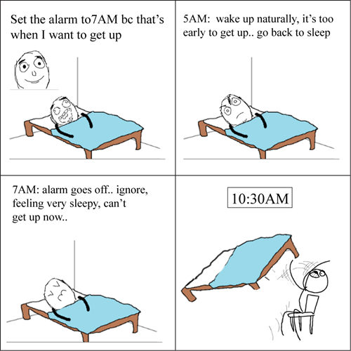scumbag brain,alarm clocks,sleeping,waking up