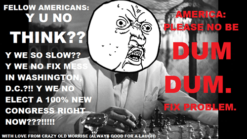 government shutdown,Y U NO