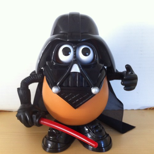 star wars for sale mr potato head darth vader - 7843240960
