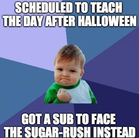 hallowmeme school g rated success kid - 7843659520