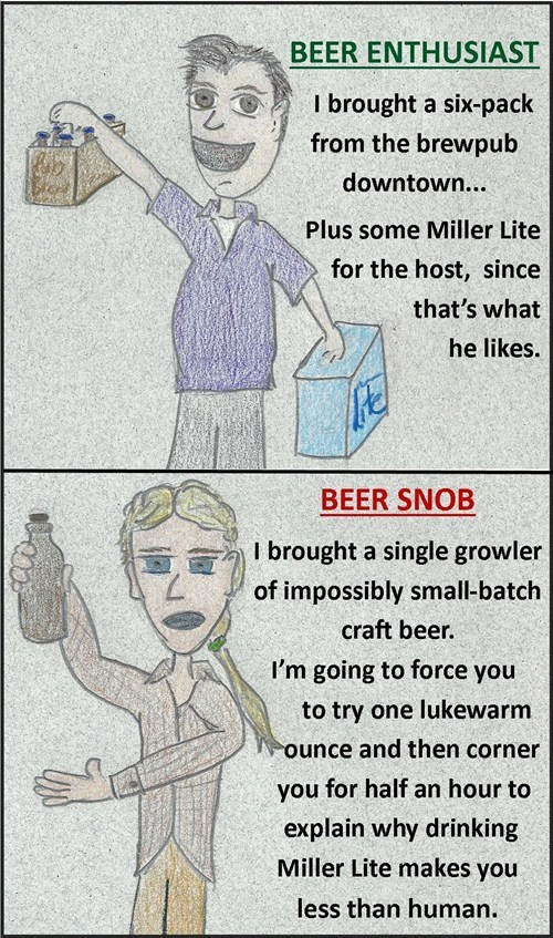 beer snob funny failbook g rated - 7843765504