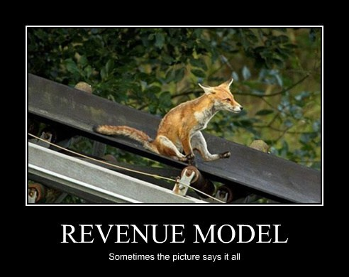 REVENUE MODEL Sometimes the picture says it all