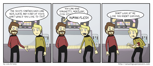 TNG Star Trek web comics - 7844495616