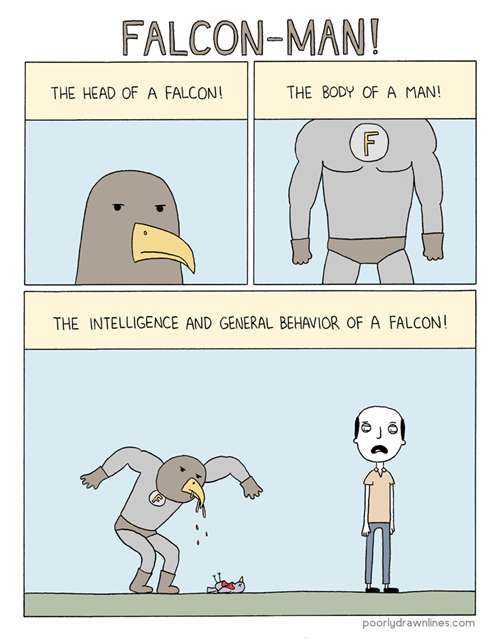 web comic,bird,falcon