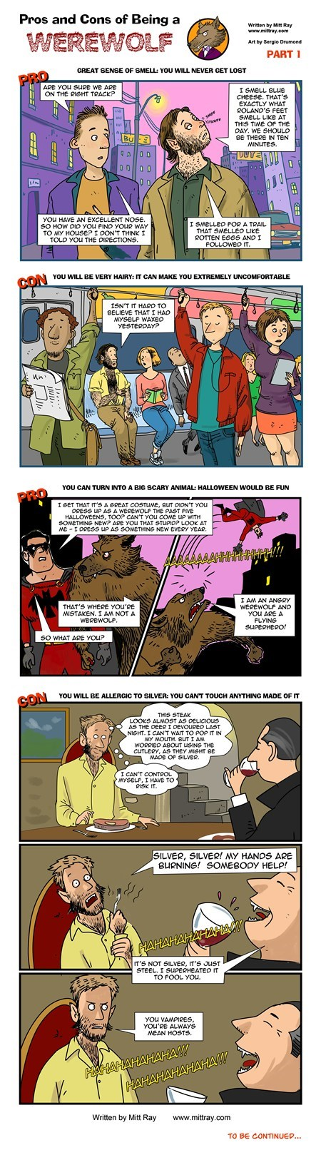 halloween,werewolves,web comics