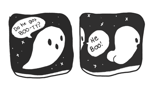 halloween comics puns ghosts hallowmeme g rated - 7844582912