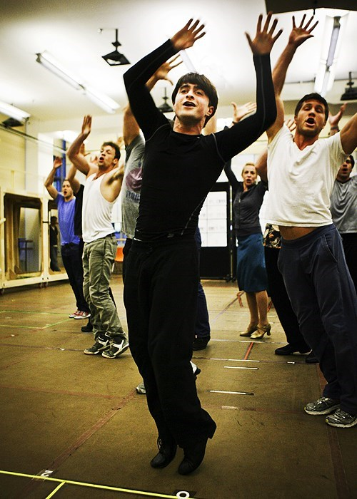 Harry Potter Daniel Radcliffe dance - 7844585472