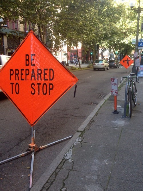 signs,road work,there I fixed it