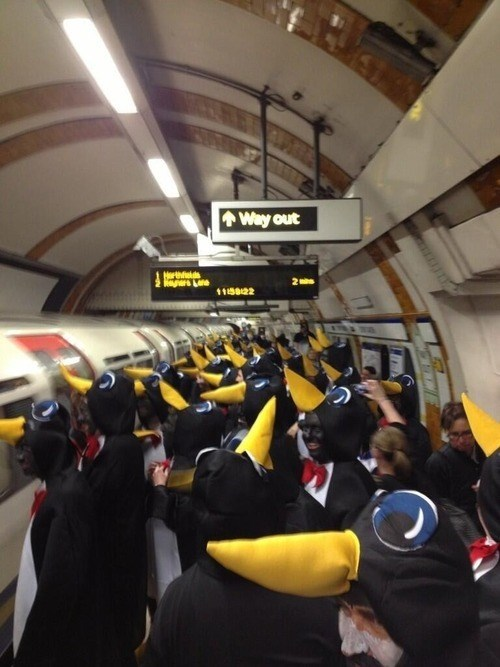 London,club penguin,london underground